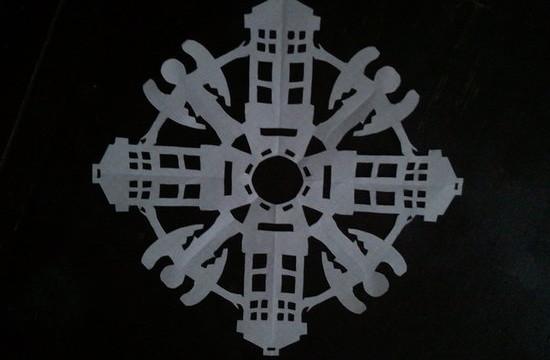 dr who snowflake 6