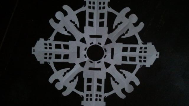 dr who snowflake 9.5