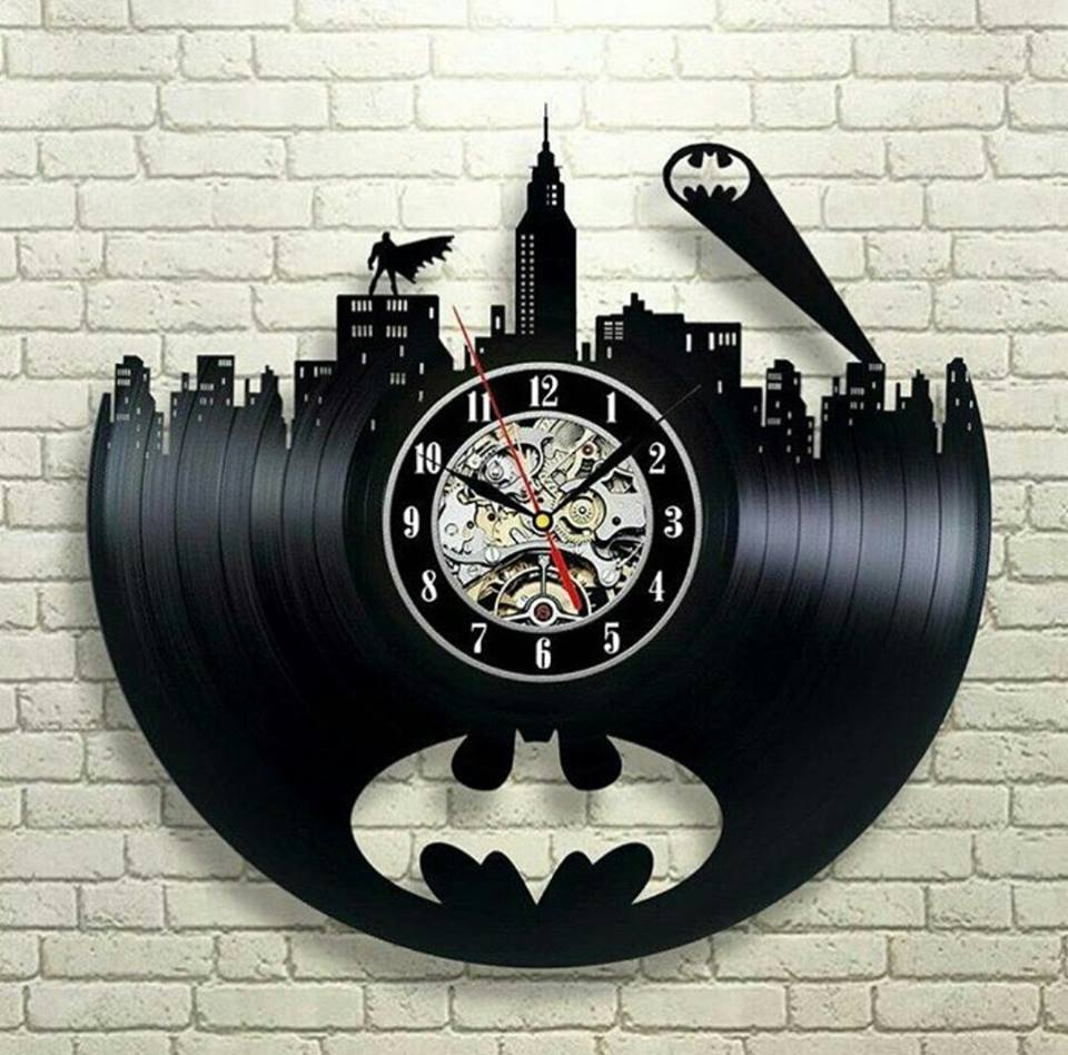 Batman Arkham City Logo Best Wall Clock