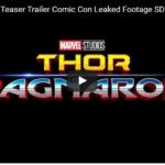 Thor Ragnarok Comic Con