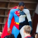 batman, superman, MOS