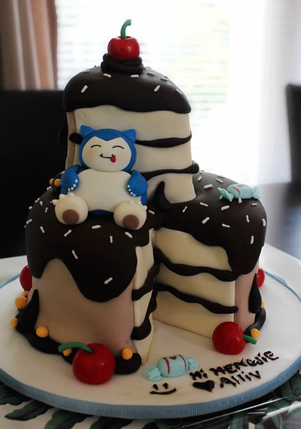 Cake With Snorlax
