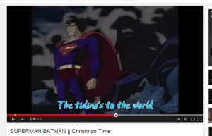 Superman/batman xmas