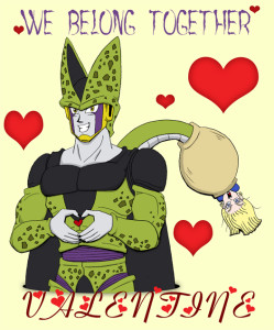 DBZ_Villiantines___Cell