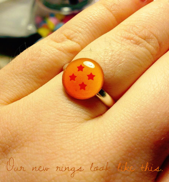 dragon ball z wedding ring 3 different rings epic geekdom 3676