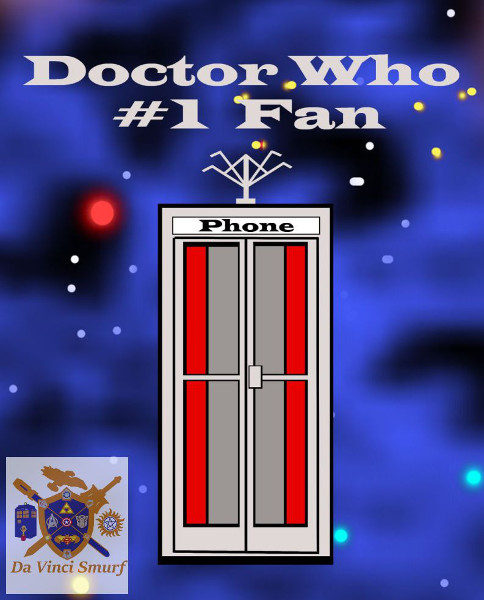 Number 1 Doctor Who FanComicBookSize