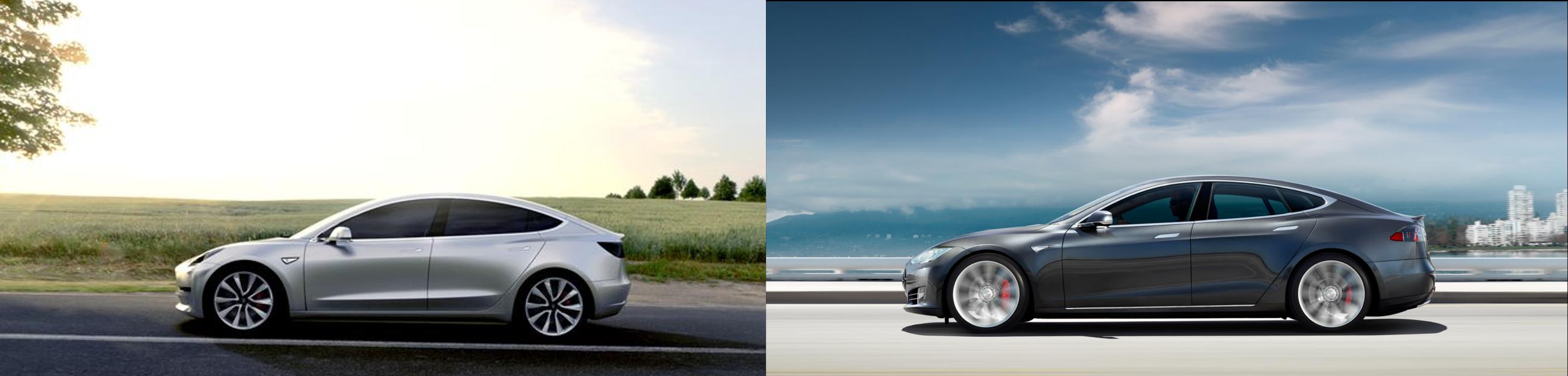 Tesla 3 and Tesla S